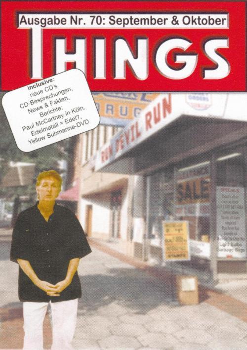 BEATLES: Fan-Magazin THINGS 70