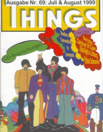 BEATLES: Fan-Magazin THINGS 69