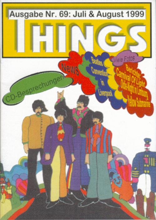 BEATLES: Fan-Magazin THINGS 69