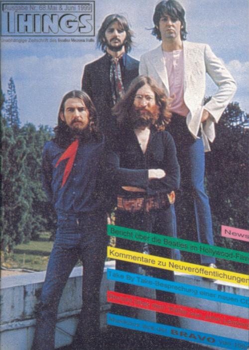 BEATLES: Fan-Magazin THINGS 68