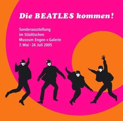 BEATLES: Ausstellungskatalog DIE BEATLES KOMMEN!