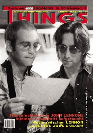 BEATLES: Fan-Magazin THINGS 186