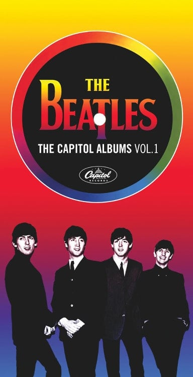 BEATLES: 4er CD-BOX THE CAPITOL ALBUMS VOL. 1