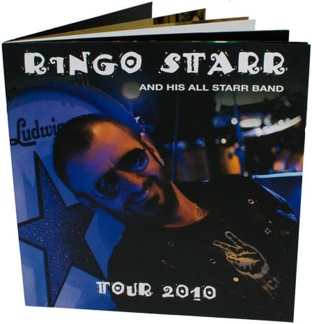 Konzertprogramm OFFICIAL RINGO STARR USA TOUR 2010