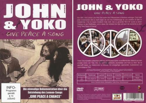 DVD: JOHN & YOKO - GIVE PEACE A SONG