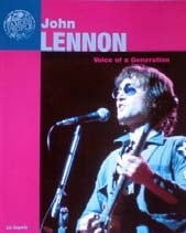 Buch JOHN LENNON A VOICE OF A GENERATION