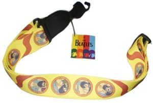 BEATLES-Gitarrengurt YELLOW SUBMARINE PORTHOLES