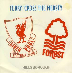 PAUL McCARTNEY & andere: Single FERRY 'CROSS THE MERSEY