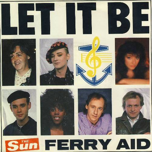 FERRY AID mit PAUL McCARTNEY: Single LET IT BE