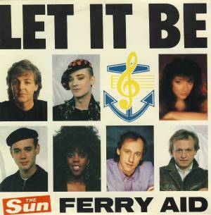 Single FERRY AID mit PAUL McCARTNEY: LET IT BE.