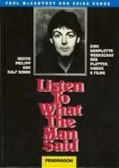 PAUL McCARTNEY: Buch LISTEN WHAT THE MAN SAID