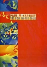 Tourheft PAUL McCARTNEY THE NEW WORLD TOUR
