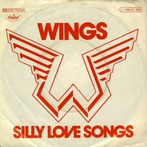 PAUL McCARTNEY & WINGS: Single SILLY LOVE SONGS