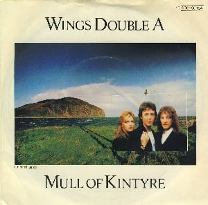 PAUL McCARTNEY & WINGS: Single MULL OF KINTYRE