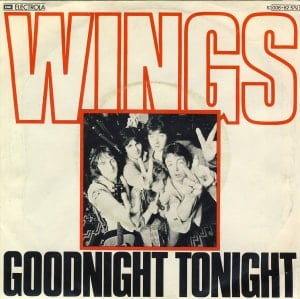 PAUL McCARTNEY & WINGS: Single GOOD NIGHT TONIGHT