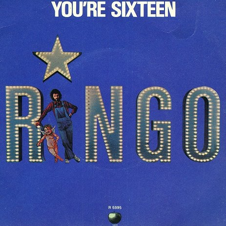 RINGO STARR: neue LEERE Singlehülle YOU'RE SIXTEEN