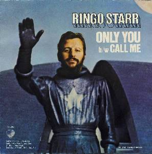 RINGO STARR: neue LEERE Singlehülle ONLY YOU