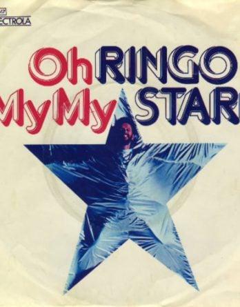 RINGO STARR: Single OH MY MY