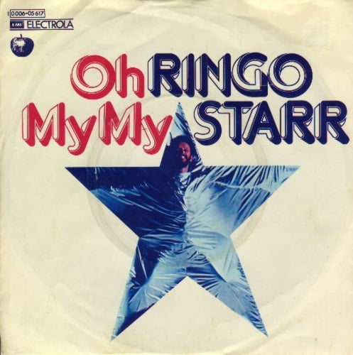 RINGO STARR: Single OH MY MY