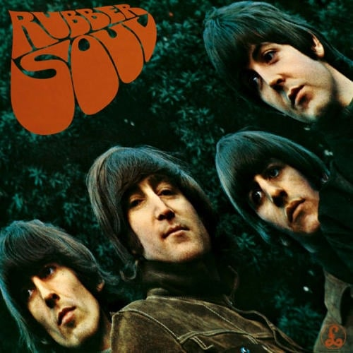 BEATLES: 1987er Stereo-CD RUBBER SOUL.