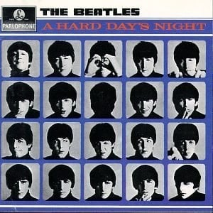 BEATLES: 1987: Mono-CD A HARD DAYS NIGHT.
