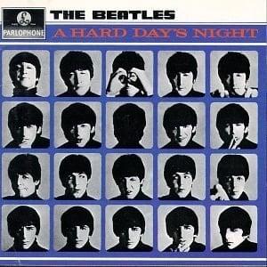 BEATLES: 1987: Mono-CD A HARD DAYS NIGHT.