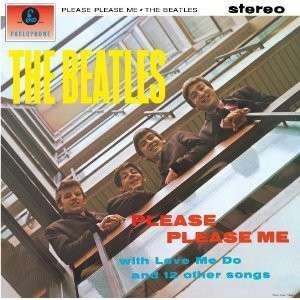 THE BEATLES: 2012er Stereo-LP PLEASE PLEASE ME