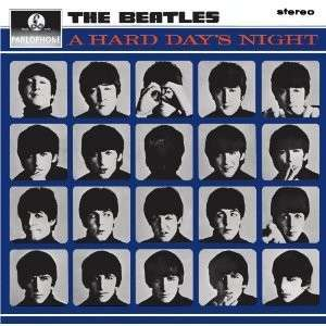 BEATLES: 2012er Stereo-LP A HARD DAY'S NIGHT