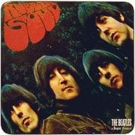 Beatles Untersetzer Rubber Soul