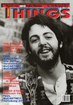 BEATLES: Fan-Magazin THINGS 188