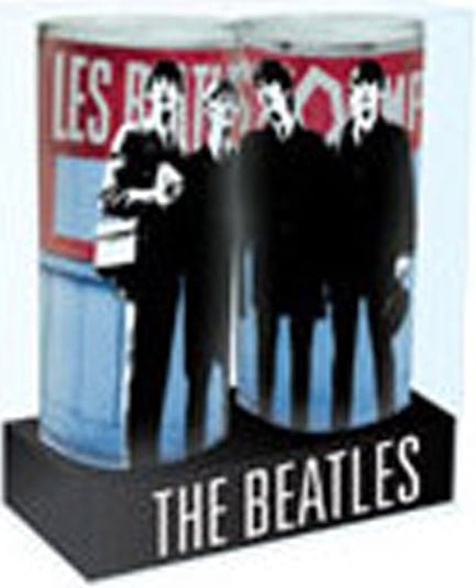 Zweier Set BEATLES- Gläser BEATLES PARIS 1964
