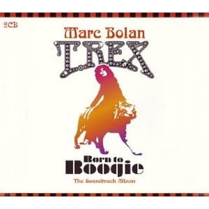 MARC BOLAN mit RINGO STARR: D-CD BORN TO BOOGIE