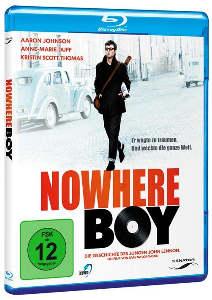 Story über JOHN LENNON: Blu-ray NOWHERE BOY auf Deutsch & Englis