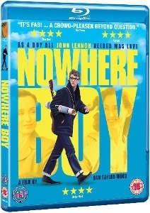 über JOHN LENNON: Blu-ray NOWHERE BOY, englisch