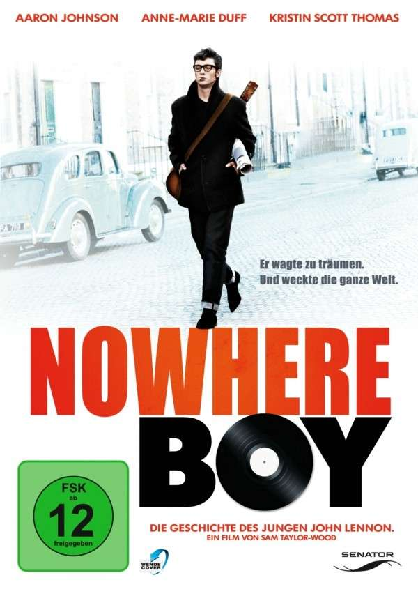 über JOHN LENNON: DVD NOWHERE BOY, deutsch