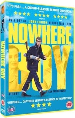 über JOHN LENNON: DVD NOWHERE BOY, englisch