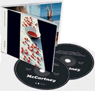 PAUL McCARTNEY: Doppel-CD McCARTNEY