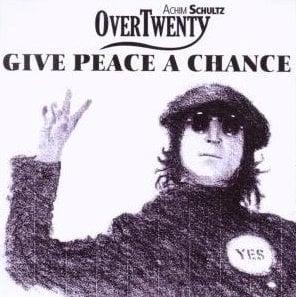 ACHIM SCHULTZ:  Single-CD GIVE PEACE A CHANCE