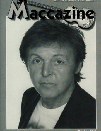 Magazin MACCAZINE - PAUL McCARTNEY TIMELINE 2010