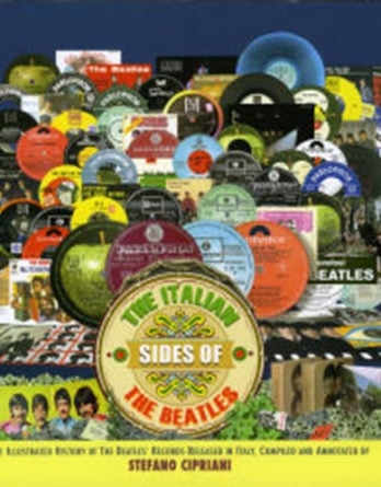 signiertes Buch THE ITALIAN SIDES OF THE BEATLES