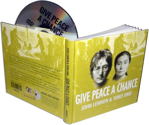 Buch mit DVD GIVE PEACE A CHANCE