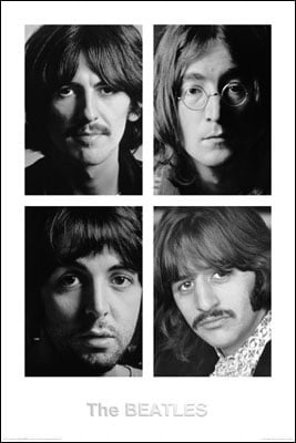 BEATLES: Poster WHITE ALBUM