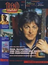 PAUL McCARTNEY: Zeitschrift TREND COMPANY MAGAZIN