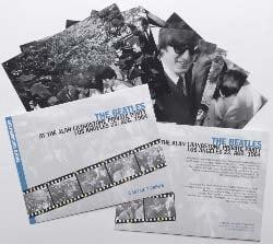 BEATLES: Fotomappe LIVINGSTONE PRIVATE PARTY 1964