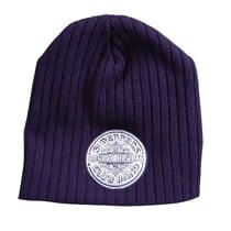 BEATLES: Wollmütze/Beanie Hat: Emblem SGT. PEPPER