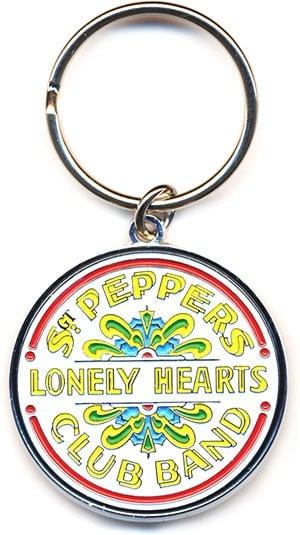 BEATLES: Schlüsselanhänger Logo BASS DRUM SGT. PEPPER