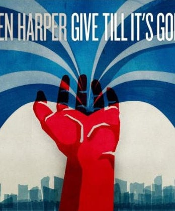 BEN HARPER (mit RINGO STARR): CD GIVE TILL IT'S GONE