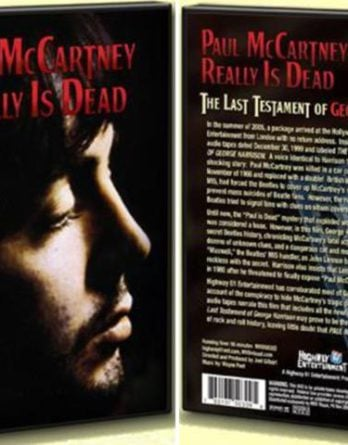 PAUL McCARTNEY:  DVD McCARTNEY REALLY IS DEAD