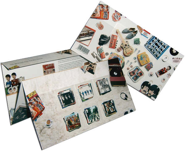 BEATLES: Briefmarken-Set THE BEATLES PRESENTATION PACK