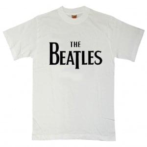 B T-Shirt SCHRIFTZUG THE BEATLES